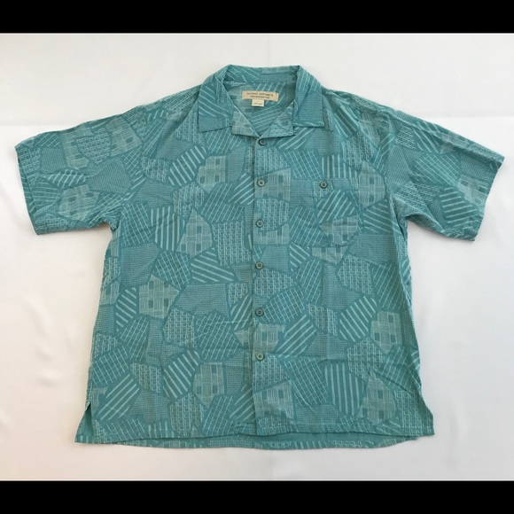 8d491635 Island Republic Other - Island Republic Mens Hawaiian Shirt Size Large